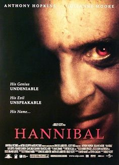 The Hannibal movie series Hannibal Lecter, Dr Hannibal, Hannibal Film, Clarice Starling, Scary Movies, Great Movies, Horror Movies, Ray Liotta, Horror Films