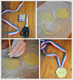 Easy Projects, Projects For Kids, Crafts For Kids, Arts And Crafts, Girl Scout Camping, Toddler Class, Olympic Gold Medals, Fathers Day Crafts, Winter Olympics