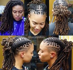 Very dope style and can go with anything 💆🏾‍♀️🤳🏾 Chanel Monroe 💋 Dreadlock Hairstyles For Men, Cool Hairstyles, Dreadlock Styles For Men, Medieval Hairstyles, Beautiful Dreadlocks, Dreads Girl, Dreads Styles, Hair Game, Natural Hair Journey