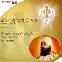May #GuruTegBahadurJi Bless You All with Peace, Happiness and Success.