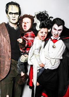 NPH family Halloween portrait