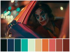 Movie Color Palette, Cinema Colours, Color In Film, Joker, 10 Film, Color Script, Moonrise Kingdom, Cinematic Photography, Black And White Pictures