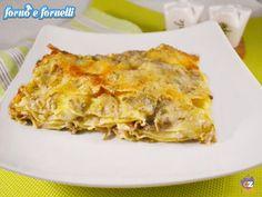 Lasagna ai carciofi