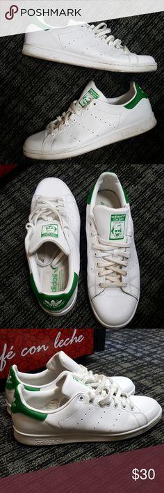 Adidas Stan Smiths Classic Adidas Stan Smith EUC! Men's 12 adidas Shoes Sneakers