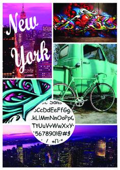 New York Moodboard