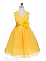 Flower girl dress but in a different color