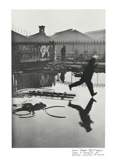 View Behind the Gare Saint-Lazare, Paris by Henri Cartier-Bresson on artnet. Browse more artworks Henri Cartier-Bresson from Feldschuh Gallery. History Of Photography, Candid Photography, Documentary Photography, Street Photography, Urban Photography, Leica Photography, Photography Office, Photography Movies, Motion Photography