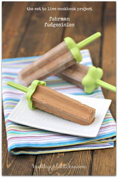 Healthy Girl's Kitchen: The Eat to Live Cookbook Project: Fuhrman Fudgesicles