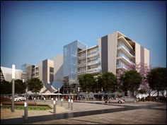 The Hill on Empire - Arc Architects. #office #architecture #parktown #johannesburg #design #glass building #arc architects