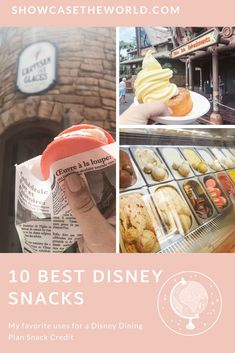 It has been over 7 months since my last trip to Walt Disney World. I don't find myself missing the characters, attractions, or even the fireworks, but I long for the SNACKS!! The past few times I have gone, I have found myself planning my trip around new restaurants or new snack items. Because I am missing some of my favorite snacks I decided to write this post about the 10 Best Snacks at WDW.