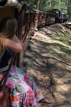 Dandenongs on Puffing Billy Steam Railway - 21 février 2015