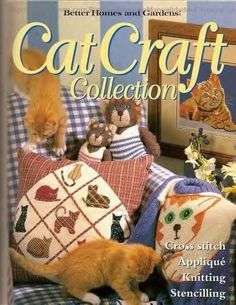 Katzen cats Handmade .... wunderschöne Motive mit Anleitungen in Englisch....  free pattern ... klick to website ;O) Gallery.ru / Foto # 1 - Cat Handwerk - Los-ku-tik