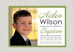 baptism cards lds - Google Search