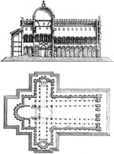 Plan, Pisa Cathedral #architecture #italy