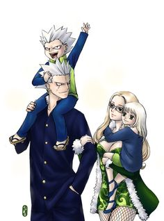 elfman and evergreen | elfman_evergreen_and_kids_cute_by_shadowsythe13-d3dq5t3.jpg Photo by ...