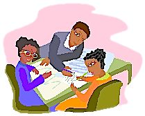 """Article from MiddleWeb: """"Better Parent Conferences"""" -- Suggestions on how to have positive and productive conferences, with lots of links to other articles and resources."""