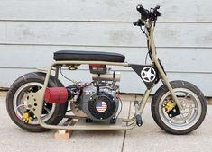 Custom Mini Bike, Motorised Bike, Minibike, Drift Trike, Ford Trucks, Cool Bikes, Tibet, Monkeys, Childcare