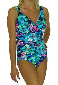 6d427d14b8e Introducing INC International Concepts Faux Wrap Floral One Piece Bathing  Suit 10 Multi Color. Great · Floral One PiecePlus Size ...