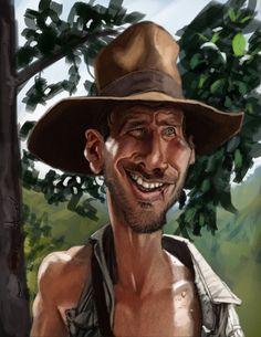 Indiana Jones by DevonneAmos.deviantart.com on @deviantART