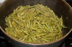 Curry String Beans