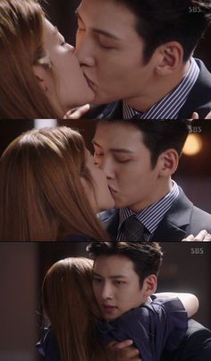 "Jumin and MC [Spoiler] ""Suspicious Partner"" Nam Ji-hyeon and Ji Chang-wook kiss"