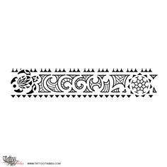 CGGOL. Maorigram. This armband tattoo was requested by Cristian and it includes in its center the letters of his family members, CGGOL, written as a maorigram. On its sides there are a[...] http://www.tattootribes.com/index.php?newlang=English&idinfo=7452