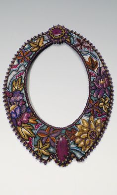 Jewelry Design - Collar-Style Necklace with Gemstone Cabochons and Seed Beads - Fire Mountain Gems and Beads