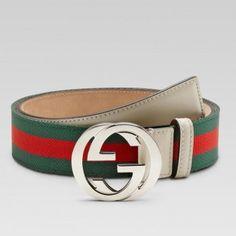 Gucci 114984 H90WN 8431 G��rtel mit Verriegelung G Schnalle Gucci Dameng��rtel