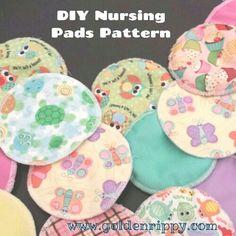 Nursing pads pattern and tutorial