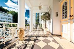 Villa Granitz - Bäderarchitektur auf Rügen im Ostseebad Sellin