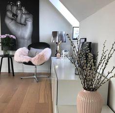 Romantisches pink trifft rockiges schwarz