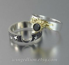 Cute Jewelry, Jewelry Rings, Jewelry Accessories, Jewelry Design, Jewellery Box, Accesorios Casual, Diamond Ring Settings, Wedding Band Sets, Ring Verlobung