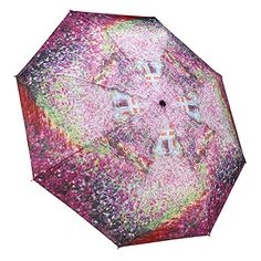 Extra Off Coupon So Cheap Galleria Monet's Garden Folding Umbrella - Monets Garden Long Umbrella, Ladies Umbrella, Folding Umbrella, Travel Umbrella, Gifts For Art Lovers, Lovers Art, Artist Monet, Compact Umbrella, Art For Sale Online