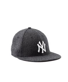Todd Snyder + New Era NY Yankees Charcoal Herringbone Hat