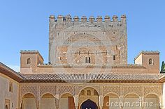 Alhambra Palace, Granada, Spain - Download From Over 37 Million High Quality Stock Photos, Images, Vectors. Sign up for FREE today. Image: 62106011