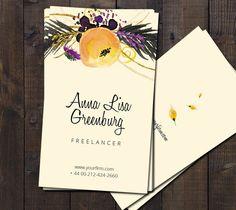 Fruit and veggie business card vistaprint business card ideas yellow business card by webvilla on creative market reheart Choice Image