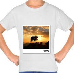 Manzara Kendin Tasarla - Çocuk Tişört