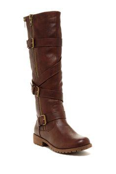 Sotila Buckle Tall Boot on HauteLook