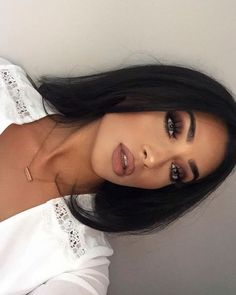Pretty Winter Makeup Ideas - - Pretty Winter Makeup Ideas Beauty Makeup Hacks Ideas Wedding Makeup Looks for Women Makeup Tips Prom. Full Face Makeup, Love Makeup, Skin Makeup, Makeup Inspo, Makeup Inspiration, Makeup Tips, Makeup Ideas, Makeup Tutorials, Makeup Products