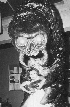 The Monster That Challenged The World (1957), and no doubt traumatized this child for life.