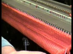 Latched Cast-On Trim for Machine Knitting by Diana Sullivan - YouTube