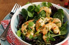 Shrimp Salad with Cranberry Pineapple MarinadeTry this tasty recipe from Ocean Spray.