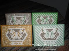 Carolyn's Card Creations: In Colour Butterfly Cards Watercolour Butterfly, Stampin Up Catalog, Butterfly Cards, Hello Everyone, Stampin Up Cards, Stamping, Card Ideas, Butterflies, Decorative Boxes