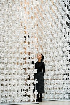 the wind portal installation by najla el zein at the va museum london design…