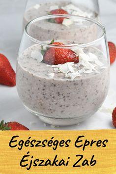 Healthy Gluten Free Recipes, Healthy Breakfast Recipes, Healthy Snacks, Snack Recipes, Omega 3, Strawberry Overnight Oats, Flourless Desserts, Sweet Breakfast, Quick Snacks