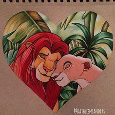 ❤️ Prismacolor pencils on Strathmore paper ✏️ #lionking#disney#love#drawing#ddfeatureart#cartoonarts#featuremetricia#deefeatureme