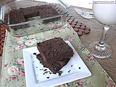 Sugar Free Mom | Gluten free and sugar free. Uses gluten free flour and unsweetened chocolate, as well as coconut oil