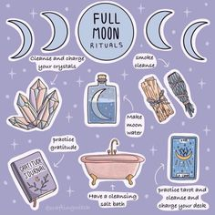 What's your full moon ritual?✨ What's your full moon ritual?✨ What's your full moon ritual?✨ What's your full moon ritual? Wiccan Witch, Magick Spells, Wicca Witchcraft, Witch Rituals, Green Witchcraft, New Moon Rituals, Full Moon Ritual, Full Moon Spells, Witchcraft For Beginners