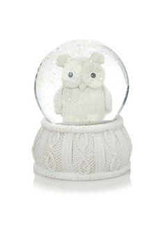 Kersten Mini sneeuwbol uil - Sneeuwbol #6