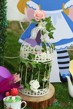 Alice In wonderland  Birthday Party Ideas | Photo 1 of 64